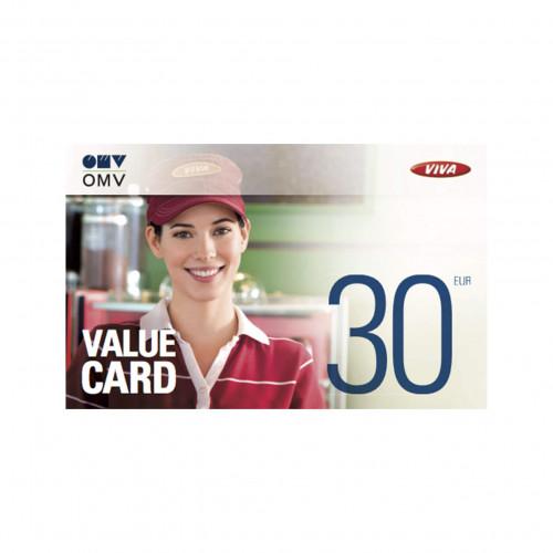 OMV Value Card 30 eur