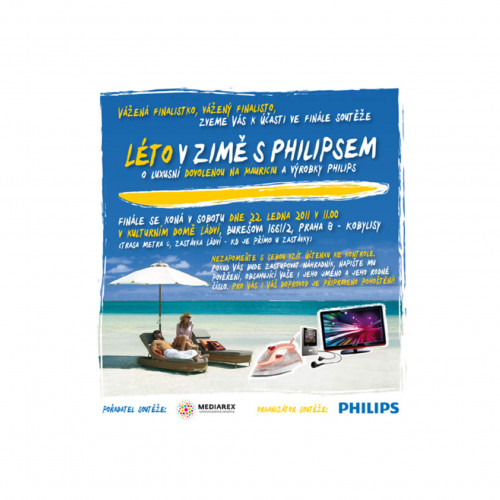 Promotion Philips - leták