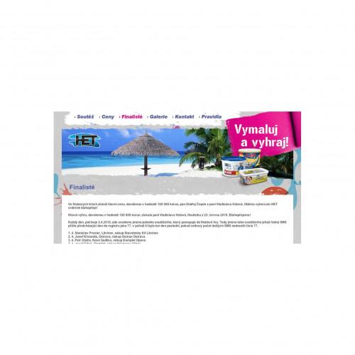 HET promotion webová prezentace