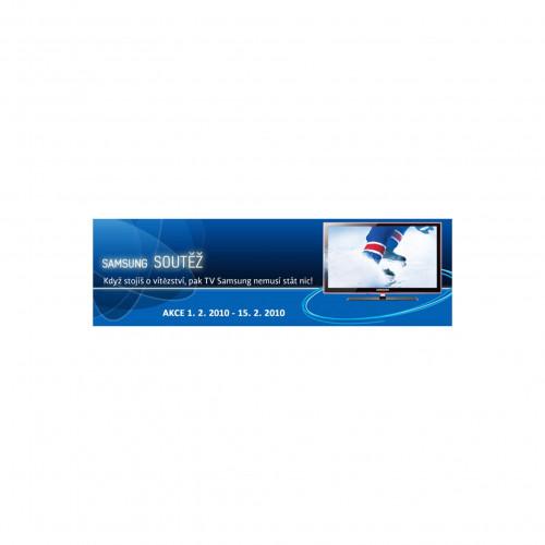 Samsung banner promotion